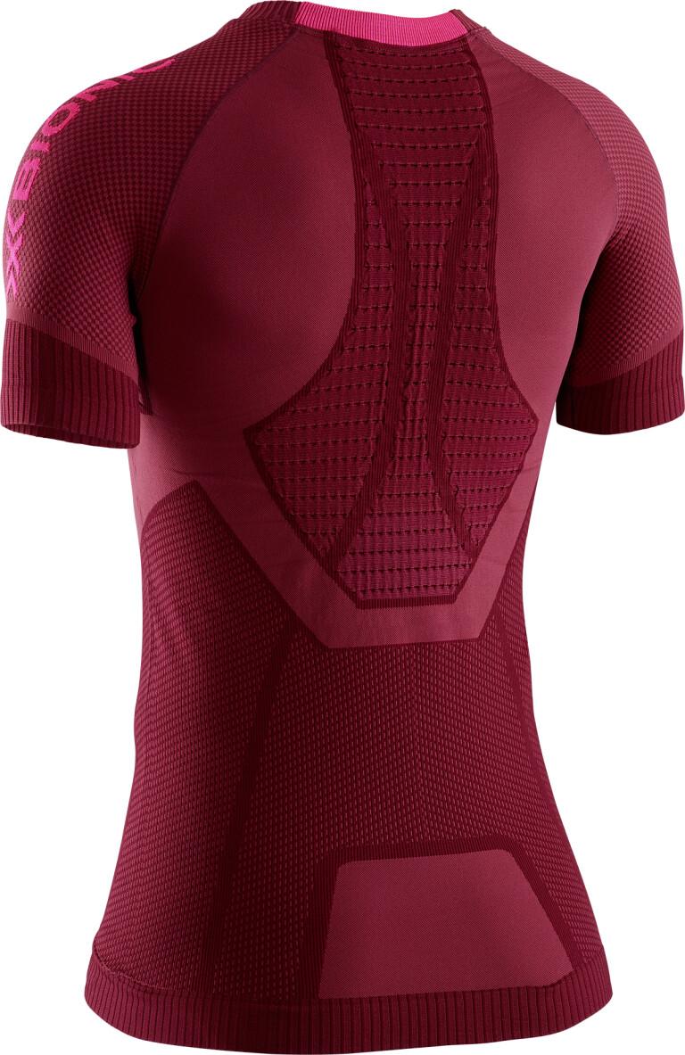 XS Namib Red//Neon Flamingo Donna X-Bionic Invent Run Speed Shirt Short Sleeve Women Rosso